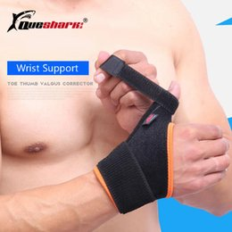 $enCountryForm.capitalKeyWord Australia - QUESHARK 1 Pc Elastic Bandage Wrist Support Thumb Hand Brace Finger Splint Tennis Weightlifting Wrist Protection