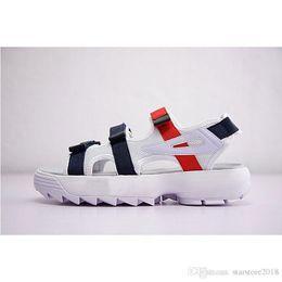 $enCountryForm.capitalKeyWord Australia - 2019 fashion Original II 2 men women Summer designer Sandals black white red Outdoor slippers Soft Water Shoe size 36-44