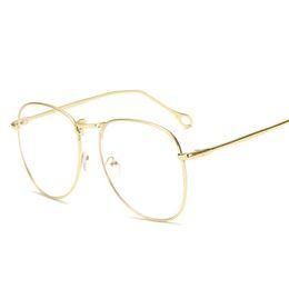 209b0b0f100 Solid gold eyeglaSS frameS online shopping - Vintage Clear Lens Fake Glasses  Men Women Reading Eyeglasses