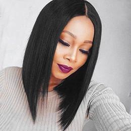 $enCountryForm.capitalKeyWord Australia - 13X6 Lace Front Wigs Human Hair Short Bob Wig Brazilian Virgin Hair Straight 100% Unprocessed Human Hair Lace Frontal Wig Natural Color