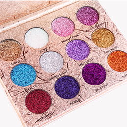 Wholesale Glitter Products Australia - new (In stock) MAANGE beauty makeup products selling 12 color with glitter powder eye shadow flash flash powder makeup eye 0047