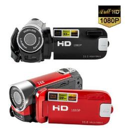 2020 New 16X Video Camera Camcorder Vlogging Camera Full HD 1080P Digital Camera 2 colors support Dropshipping JA4 on Sale