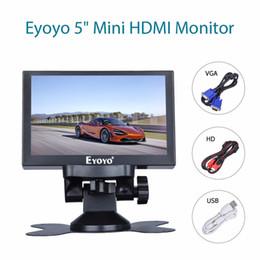 $enCountryForm.capitalKeyWord Australia - Eyoyo 5 inch Mini HDMI Monitor 800x480 Car Rear View TFT LCD Screen Display With BNC VGA AV HDMI Output Built-in Speaker