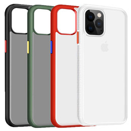 Protective shields online shopping - JOYROOM for Iphone Case Cow Shield Series Protective Cover Matte Clear PC with TPU Bumper Phone Case for Iphone Pro Max