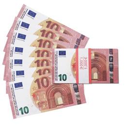 Vente en gros Prop euro argent 10, faux euros, faux argent comptant l'argent des enfants pour le film, film vidéo