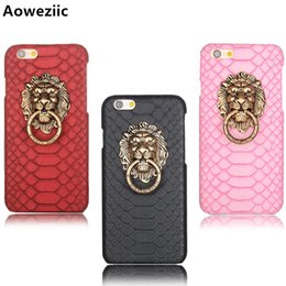 $enCountryForm.capitalKeyWord Australia - wholesale Case For iphone 7Plus Cover 8Plus Sexy Snake Case X XS MAX XR 6 6S Plus 5S SE 3D Lion Head Stand Cover Funda shell DIY