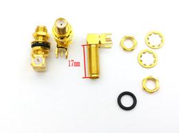 $enCountryForm.capitalKeyWord UK - 100pcs RP-SMA female plug right angle Screws PCB mount
