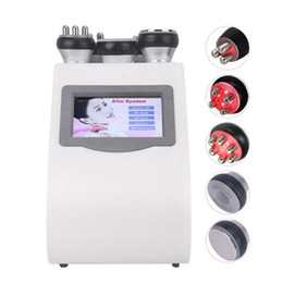 Toptan satış 5 1 Vakum Lazer Radyo Frekansı RF 40K Cavi Lipo Zayıflama Ultrasonik Liposuction kavitasyon Makinası İçin Spa