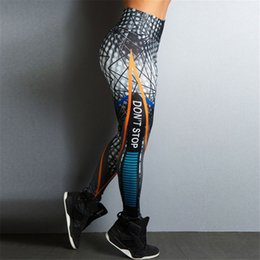 $enCountryForm.capitalKeyWord NZ - Line Walker Don't Stop Print Women Leggings Push Up Rainbow Yoga Leggings Fitness Women Pants High Waist Workout Trousers #180496