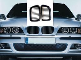 Discount bmw series black kidney grills Matte Black Front Hood Kidney Grills FITS BMW 3 Series E36 1997-1999 4-Door