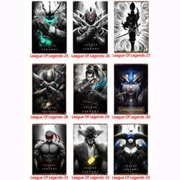 league legends art 2019 - Wholesale League of Legends Metal Signs Tin Painting Posters Crafts Supplies Art Picture 20*30cm Bar, Cafe, KTV Home Wal