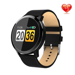 $enCountryForm.capitalKeyWord Australia - Smart Watch Q8 Fitness Tracker Heart Rate Monitor Blood Pressure Measurement Smart Watch for Ladies Support Android IOS PK KW10