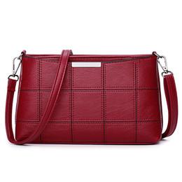 $enCountryForm.capitalKeyWord UK - New Arrival PU Leather Handbags for Women Casual Female Shoulder Bags Tote Knit Decor Crossbody Bag Ladies Large Messenger Bag