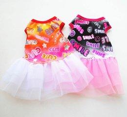 $enCountryForm.capitalKeyWord Australia - Summer dog pet cute skirt, vest, dog wedding cake skirt