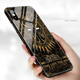 Bumpers for cell phones online shopping - Glass Avengers Case for iPhone X Plus Shockproof Hard Cases Cell Phone Bumpers For iphone X XR XS Mas