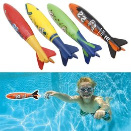 $enCountryForm.capitalKeyWord Australia - 4 Pcs Rubber Swimming Pool Toys Diving Sport Outdoor Toypedo Bandits Play Water Fun Pool Fun Toys Games