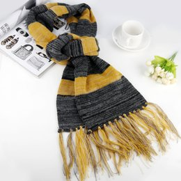 Fantastic costume women online shopping - Hot Fantastic Beasts and Where to Find Them Scarf Newt Scamander Cosplay Costume Men s Scarves Fashion Women Winter Tassel Scarf