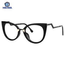 37cea42d83 Fancy Sexy Lady Cat Eye Mujer Marco de gafas ópticasEspectáculos Gafas  Óptico Gafas Marcos Marco Negro Rojo Rosa Marco de anteojos