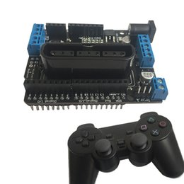 Wholesale Shield Intelligent Car Motor Drive Board Supports Wireless Remote Control of PS2 Handle