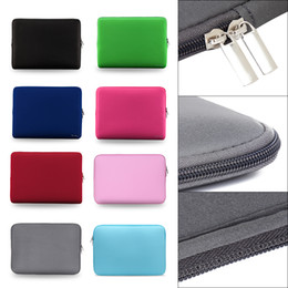 "ultrabook laptop 14 2019 - 2018 Fashion New Laptop Bag Zipper Soft Sleeve 11 13 14 15"" inch Bag Case for MacBook Air pro Ultrabook Notebook ta"