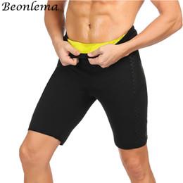 418a7cb484 Beonlema Men Shapewear Shorts Neopreno Hombre Waist Abdomen Firm Shaping  Pants Homme Sport Butt Lifter Body Shaper M-3XL