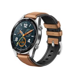 $enCountryForm.capitalKeyWord Australia - Original Huawei Watch GT Smart Watch Support GPS NFC Heart Rate Monitor 5 ATM Waterproof Wristwatch Sport Tracker Watch For Android iPhone