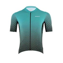 green giant clothing UK - NEW Team GIANT Cycling jersey Men short sleeve sports uniform summer breathable road bike shirt mtb bicycle uniform racing clothing Y2003251