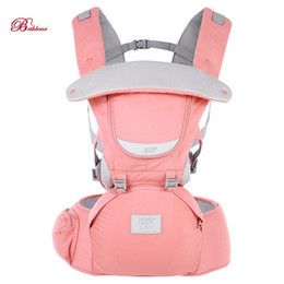 Hip seat carrier online shopping - 2018 New Bethbear Months In Adjustable Hip Seat Newborn Waist Stool Baby Carrier Infant Sling Backpack Y190522