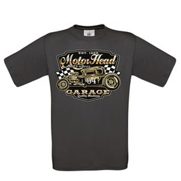688ea457f Uomo Hotrod 58 Hot Rod T Shirt American Motorhead Garage Rat Auto D'Epoca  248 Men Women Unisex Fashion tshirt Free Shipping