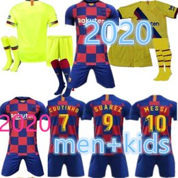 Discount shirt camisa - top new camisa de futebol kids men kit 18 19 20 soccer jersey maillot de foot 2019 2020 football shirt designer t shirt