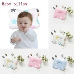 $enCountryForm.capitalKeyWord NZ - 2019 Newest Hot Newborn Baby Cartoon Printed Memory Cot Pillow Prevent Flat Head Positione Sleeping Support Anti Roll Pillow