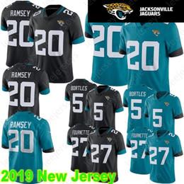 b3d05a3d1 Stitched Jacksonville 20 Jalen Ramsey Jaguar Jersey 27 Leonard Fournette 5  Blake Bortles 84 Keelan Cole Football Jerseys
