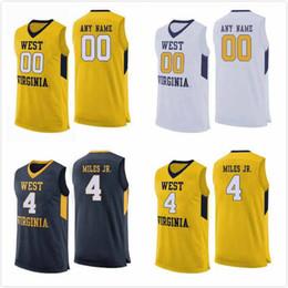 $enCountryForm.capitalKeyWord Australia - Custom West Virginia Mountaineers Miles McBride Jersey 4 Sean McNeil 22 Oscar Tshiebwe 34 College Basketball Jerseys 2020 Stitched S-3XL