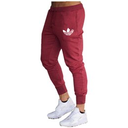 Chinese  New Spring Autumn Brand Gyms Men Joggers Sweatpants Men's Joggers Trousers Sporting Clothing The High Quality Bodybuilding Pants manufacturers