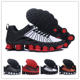 finest selection 71e40 1eb6f Wholesale Shox tlx Mens Running Shoes Men Sneakers Fashion Athletic Sport  Shoe Hot Corss Hiking Jogging Walking Outdoor Shoes Size 40-46