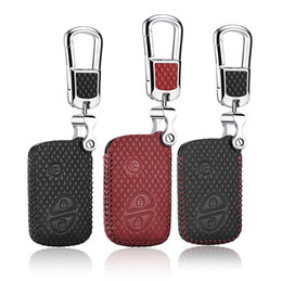 lexus car remote Australia - car styling For LEXUS GX 2010-2015 LX 2007 2009 2012 ES IS GS Brand New High Quality leather remote key Case Cover Holder