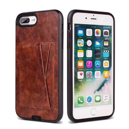 $enCountryForm.capitalKeyWord Australia - For Samsung S7 S8 J7 A6 Plus S4 S5 S6 Edge New Luxury PU Leather Case with Credit Card Slot Tough Back Cover
