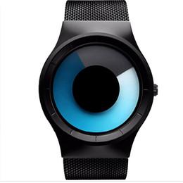 $enCountryForm.capitalKeyWord Australia - Relogio Masculino Fashion Concept Watch Men And Women's Watch Business Whirlpool Watches Man Stainless Steel Mesh Belt Watches MX190716