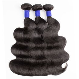 Chinese  3 Bundles Top Quality Peruvian Hair Weft Body Wave Unprocessed Virgin Remy Human Hair Weave Mink Braid Hair Extensions manufacturers