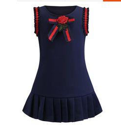 $enCountryForm.capitalKeyWord UK - Summer 2019 New College Wind Girl Cotton Dress Baby Temperament Sleeveless vest skirt breathable thin
