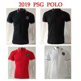 f6840c5ba Paris Saint Germain Jersey Australia - 2019 PSG Polo Grey Soccer Jersey 18  19 Paris Saint