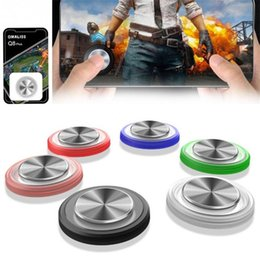 Joystick For Tablet Australia - Game Joystick Rocker Sucker Portable Washable Button Mini Controller Round For Mobile Phone Tablet Seven Colors