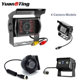 Truck cables online shopping - YuanTing Heavy Duty Pin RCA Vehicle Rear Side View Camera Extension Cable For Truck RV Bus Trailer IR Night Vision Waterproof car