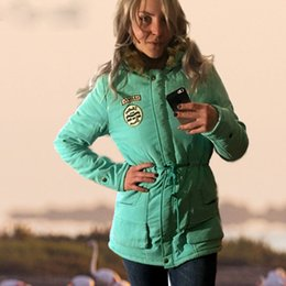 $enCountryForm.capitalKeyWord Australia - Warm Winter Coat Women Long Parkas Fashion Faux Fur Hooded Womens Overcoat Casual Cotton Padded Jacket Mutil Colors