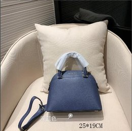 bag shells Australia - Shell bag, pure cross grain cowhide shop most handbag feel super soft super comfortable high purity hardware