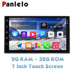"$enCountryForm.capitalKeyWord Australia - Panlelo 2 Din Quad Core Touch Screen Car Stereo 2G+32G 7"" 1080P Autoradio Android 8.1 Head Unit GPS Navigation Audio Radio WiFi"