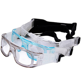 0bec09d9a779 Sport Goggles Football UK - Basketball Soccer Football Sport Protective  Elastic Goggles Eye Safety Glasses PC