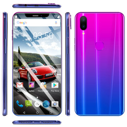 Cheap 3g Touch Screen Phones Australia - Cheap MTK6580 octa core 3G X21 Mobile Phone 5.5Inch Screen Display Phone Dual Card Dual Standby 512MB Ram 4G Rom Memory Cell Phone