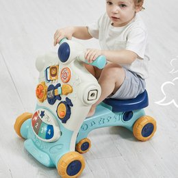 Wholesale Activity Sit to Stand Baby Learning Walker Multifunctional Puzzle Baby Walker Toys