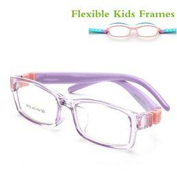 $enCountryForm.capitalKeyWord Australia - Myopia Kids Frames Optical Eyewear Detachable Rubber Leg Kid Glasses Eyeglasses for Children No Screw Safe TR Grade